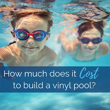 Cost to build a vinyl liner swimming pool