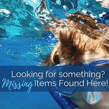 Missing Items?