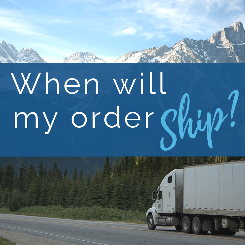 When Will My Order Ship?