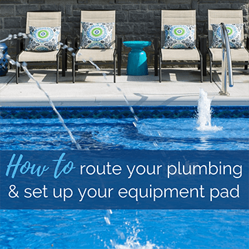 How Do I Set Up My Equipment Pad and Plumbing?